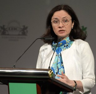 Russia's Central Bank Chairperson Elvira Nabiullina