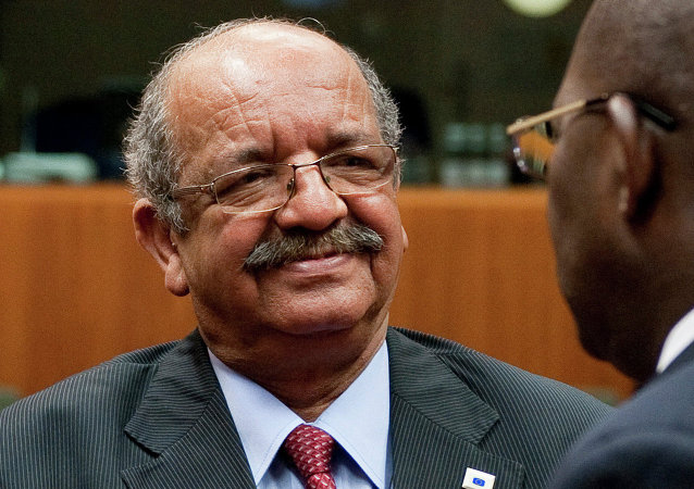 Algerian Minister Delegate for Maghreb and African Affairs Abdelkader Messahel