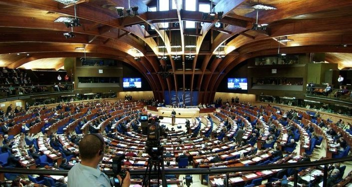 In April, PACE suspended Russia's voting rights over its reunification with Crimea. To protest the expulsion, Russia's delegation walked out of the assembly's spring session.