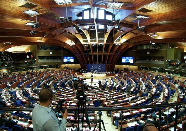 In April 2014, PACE suspended Russia's voting rights over its reunification with Crimea. To protest the expulsion, Russia's delegation walked out of the assembly's spring session.