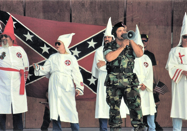 Ku Klux Klan Meeting in Boca Raton, Florida
