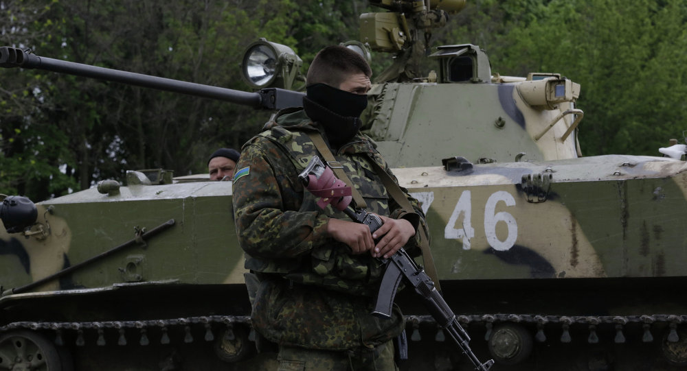 Ukrainian troops launch assault on Slavyansk