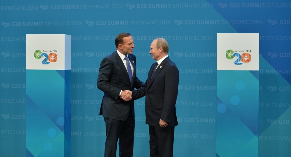 Vladimir Putin takes part in G-20 summit
