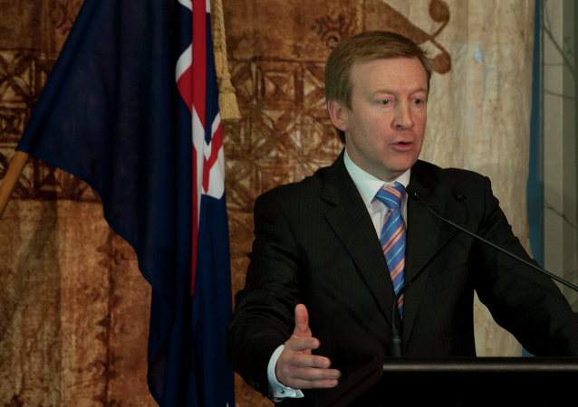 New Zealand Minister of Defense, Jonathan Coleman