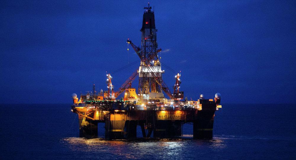 Russia Arctic Oil Drilling