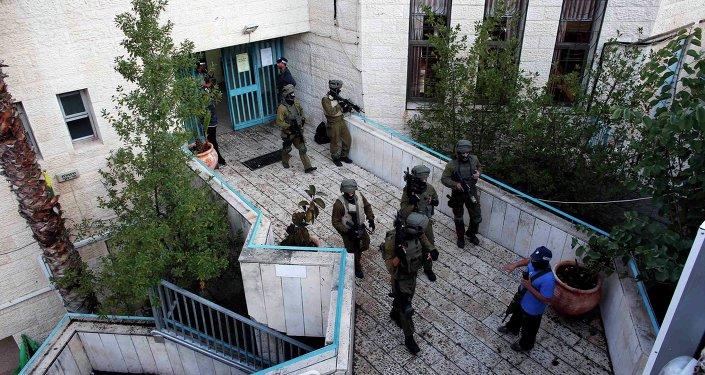 Israeli security personnel