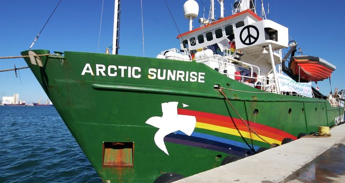 The Spanish government has seized the Arctic Sunrise vessel of Greenpeace at the Arrecife port of the island of Lanzarote