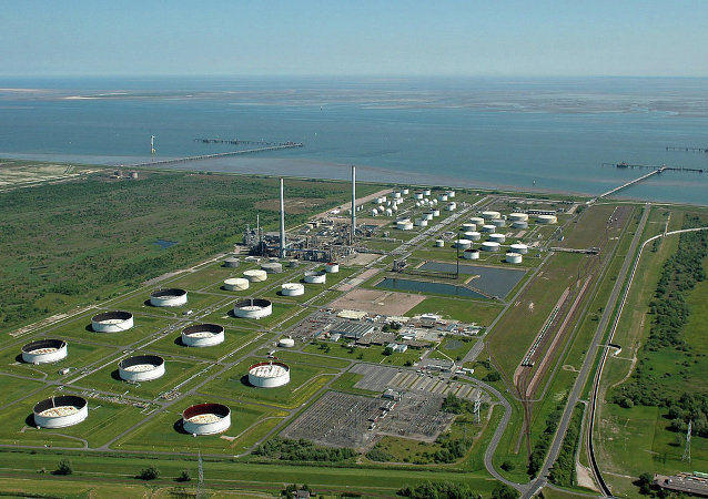 Part of the Ineos facility in Wilhelmshaven, Germany