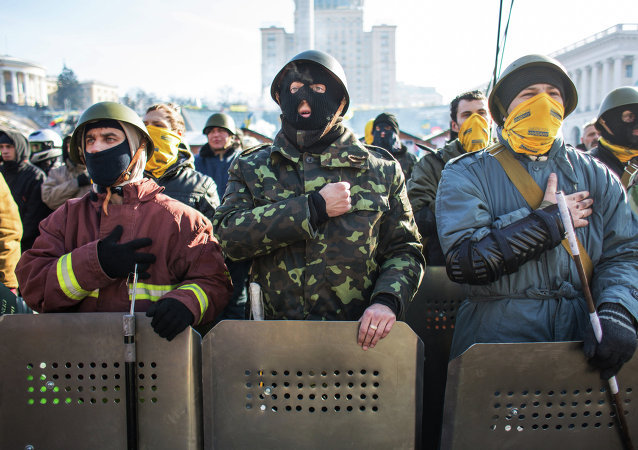 Maidan protests in Kiev