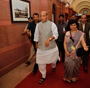 India's Home Minister Rajnath Singh