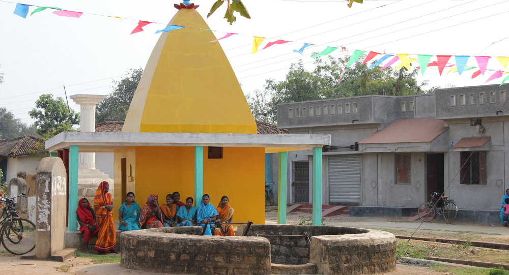School building in Chhattisgarh, India