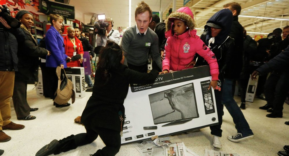 Black Friday spawns chaotic scenes as America goes wild in the aisles | Matt Williams