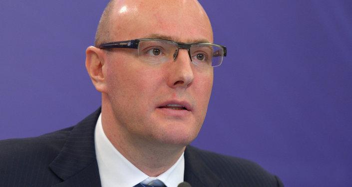 President of the Kontinental Hockey League (KHL) Dmitry Chernyshenko