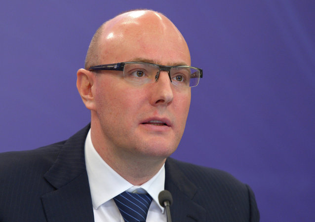 President of the Kontinental Hockey League (KHL) Dmitry Chernyshenko