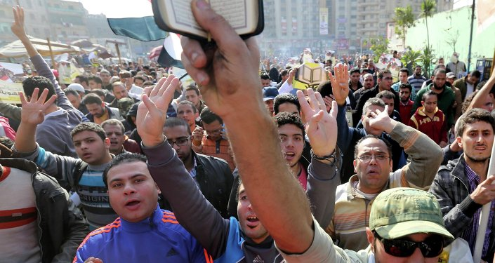 Islamist protest in the Cairo