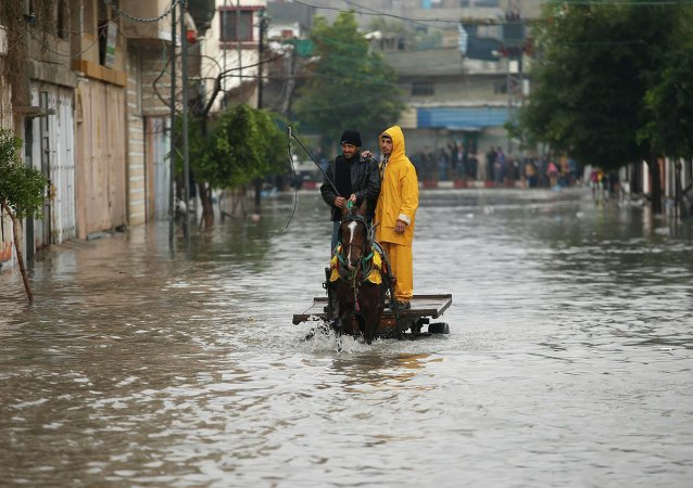 Flood in Gaza