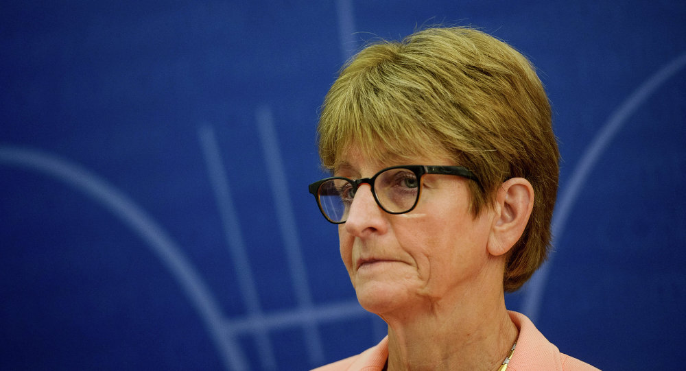 Anne Brasseur, President of the Parliamentary Assembly of the Council of Europe.