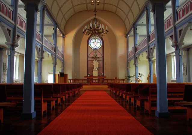 Lutheran church, Hanko, Finland