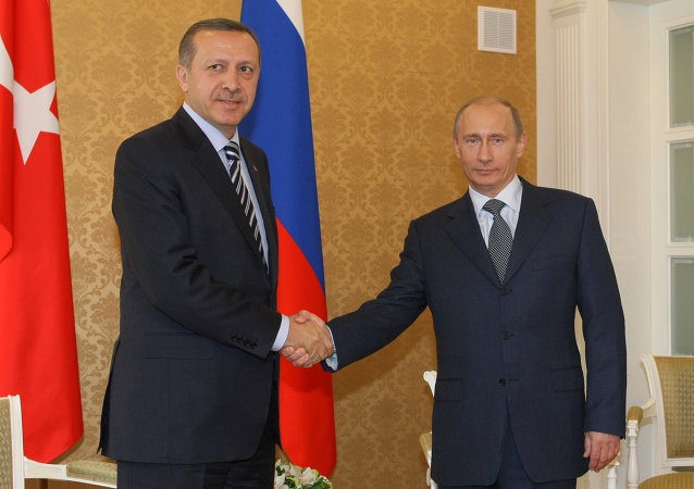 Vladimir Putin's visit to Turkey