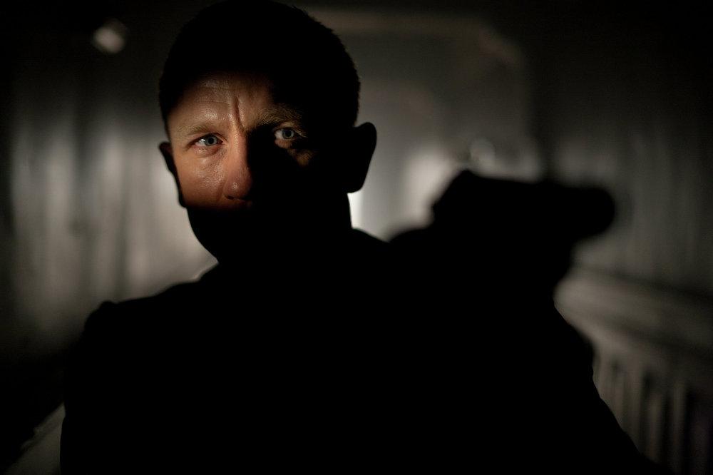 Дэниэл Крэйг в роли Джеймса Бонда фильме 007: Координаты Скайфолл