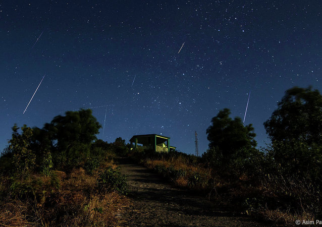 Geminids Meteor Shower in northern hemisphere