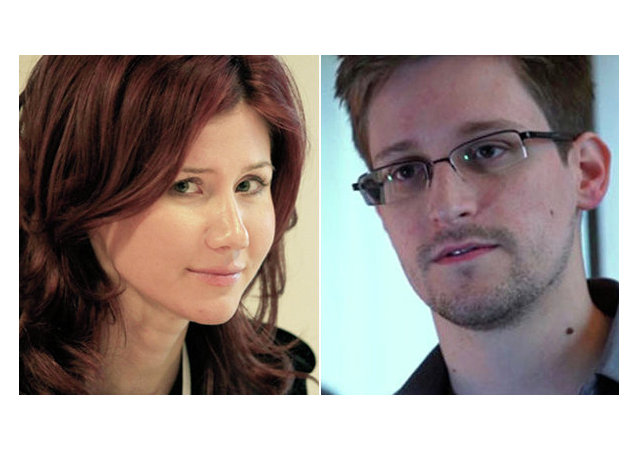 Anna Chapman and Edward Snowden