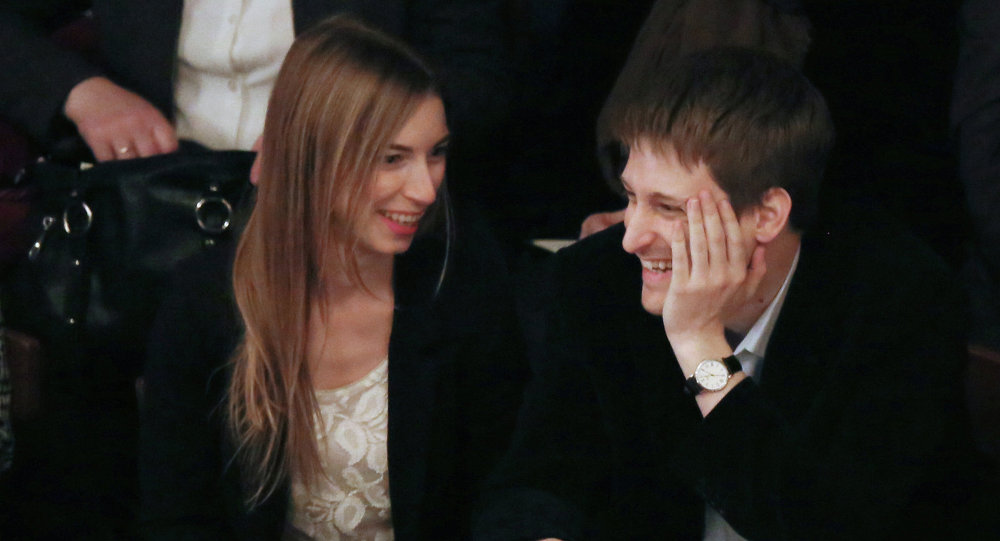 Edward Snowden in a theater in Moscow