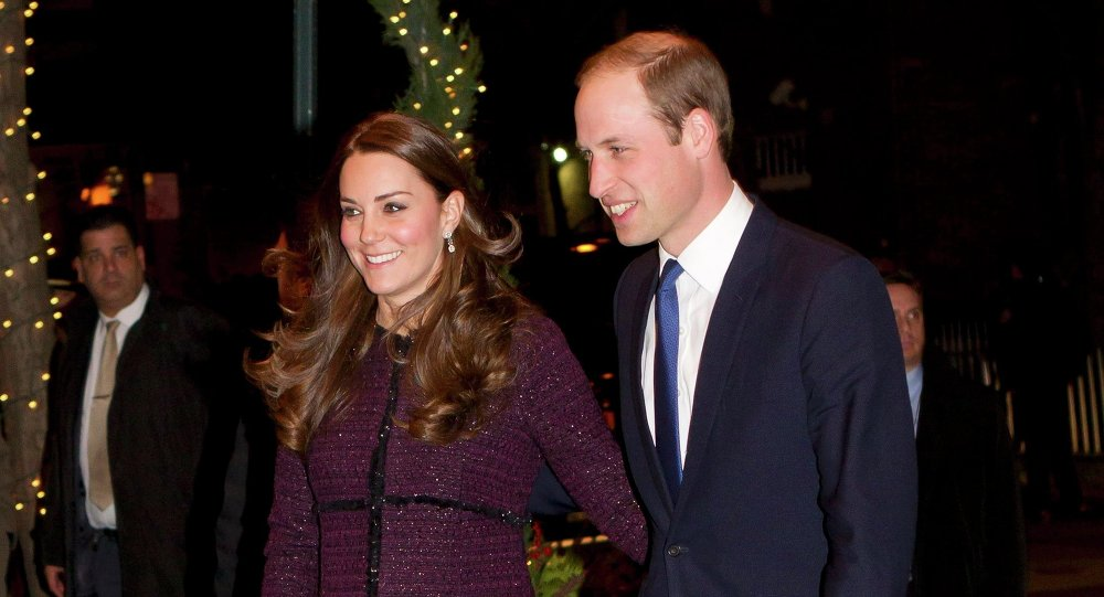 Britain's Prince William, Duke of Cambridge, and his wife Catherine, Duchess of Cambridge, arrive at the Carlyle hotel in New York, December 7, 2014