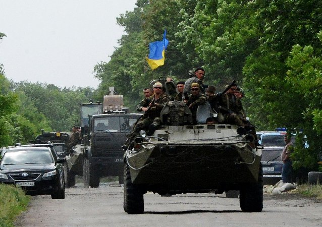 Ukraine's National Guard checkpoint assaulted by unidentified persons