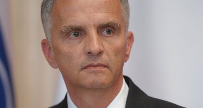 Vladimir Putin meets with OSCE Chairman-in-Office Didier Burkhalter