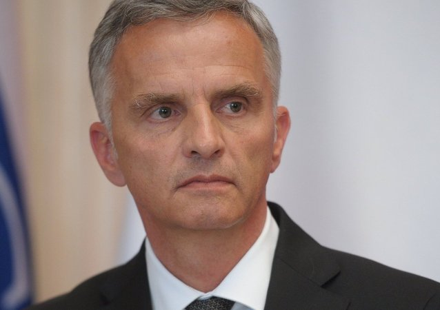 The Organization for Security and Co-operation in Europe (OSCE) Chairman-in-office Didier Burkhalter stated that the local elections in Donetsk and Luhansk People's Republics (DPR and LPR) runs counter to the letter and spirit of the Minsk Protocol.