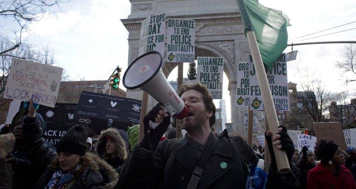Марш миллионов в Нью-Йорке