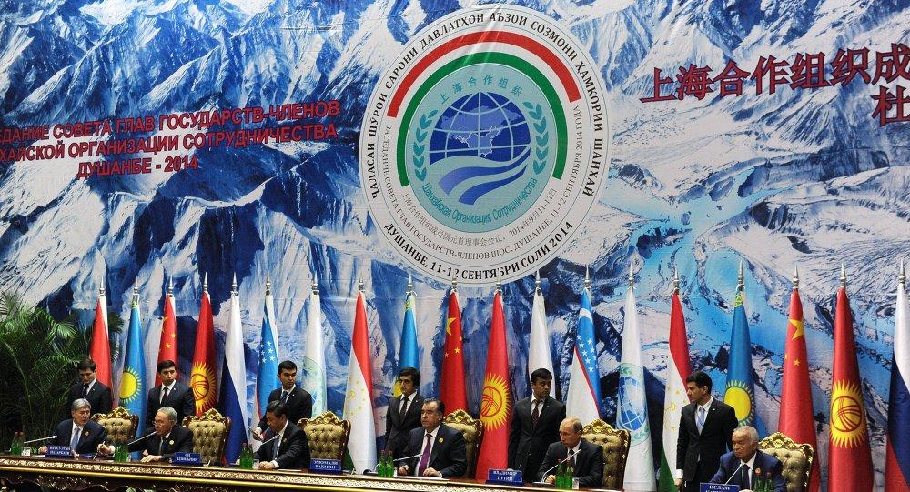 Vladimir Putin attends SCO summit in Dushanbe