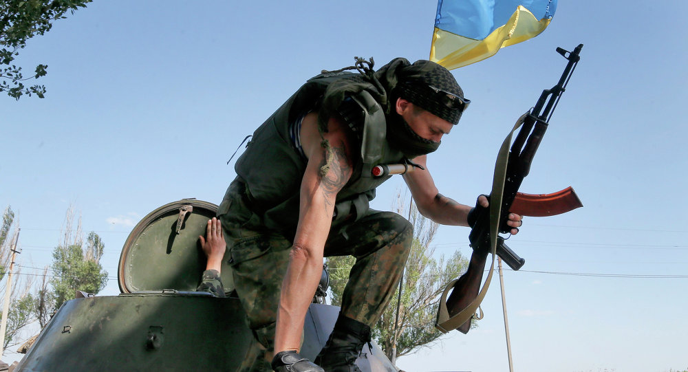 The eastern Ukrainian self-proclaimed Donetsk People's Republic has reported that approximately 60 Ukrainian military personnel were killed in overnight fighting