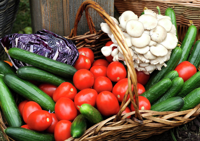 Овощи и зелень / Vegetables and greens
