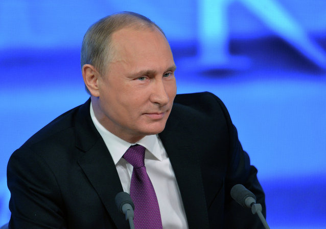 10th annual press conference of Vladimir Putin