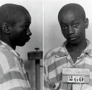 George Stinney Jr appears in an undated police booking photo provided by the South Carolina Department of Archives and History. A South Carolina judge on December 17, 2014,