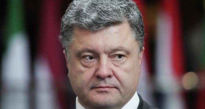 Petro Poroshenko said there is no military solution to the Ukrainian crisis