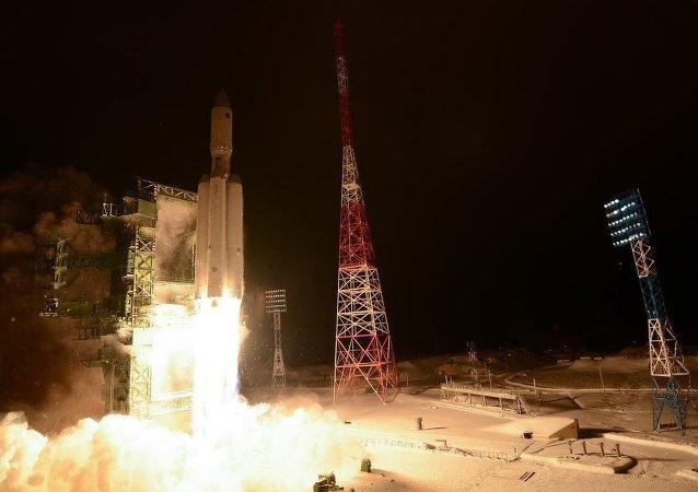 Angara A-5 test launch