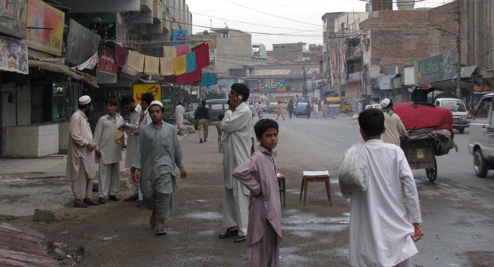 Streets of Peshawar Afghanistan