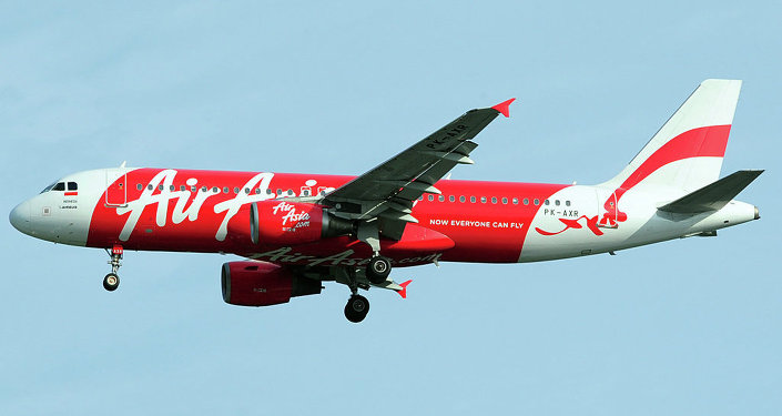 AirAsia flight QZ 8501 has crashed into water after experiencing severe turbulence
