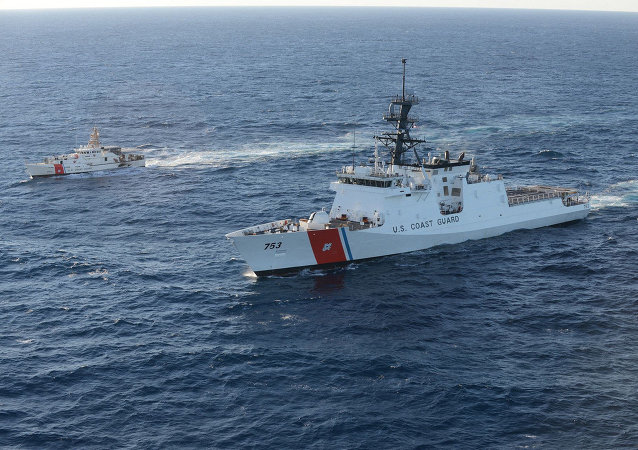 US Coast Guard ships