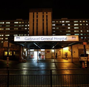 A general view of Gartnavel General Hospital is seen in Glasgow, Scotland December 29, 2014