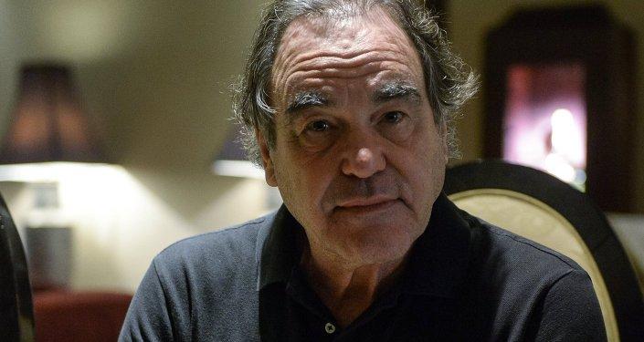 US filmmaker Oliver Stone