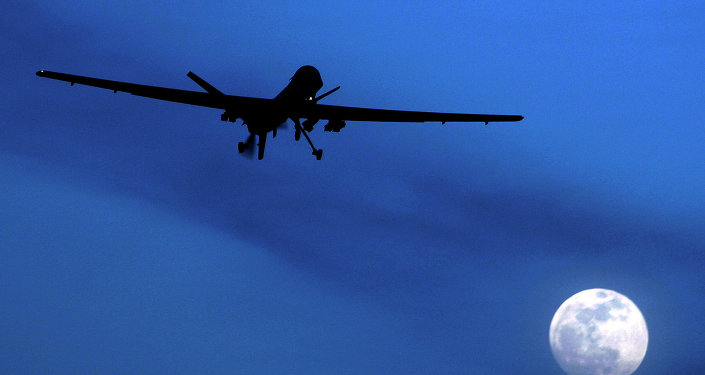 An unmanned US Predator drone