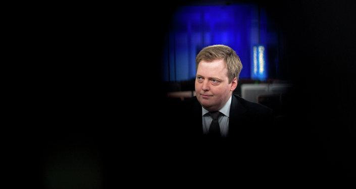 Sigmundur Gunnlaugsson, Iceland's Prime Minister