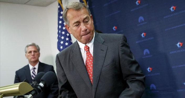 Speaker of the United States House of Representatives John Boehner