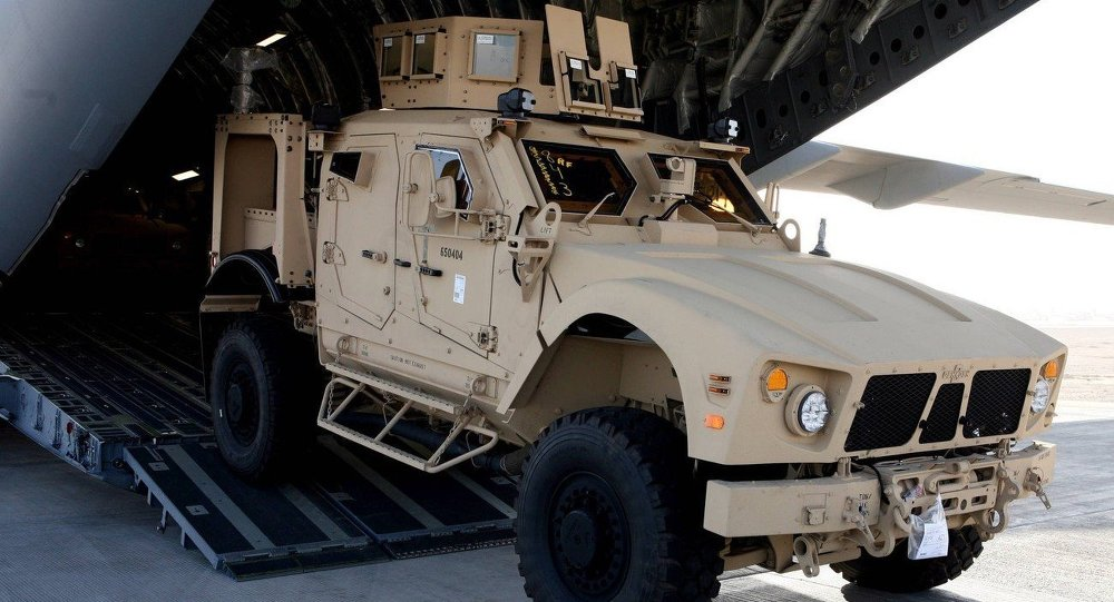 Oshkosh M-ATV Mine Resistant Ambush Protected (MRAP) all-terrain vehicle