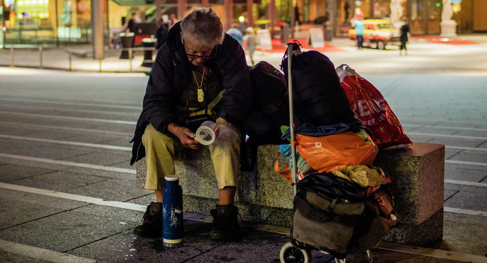 Homeless in Germany