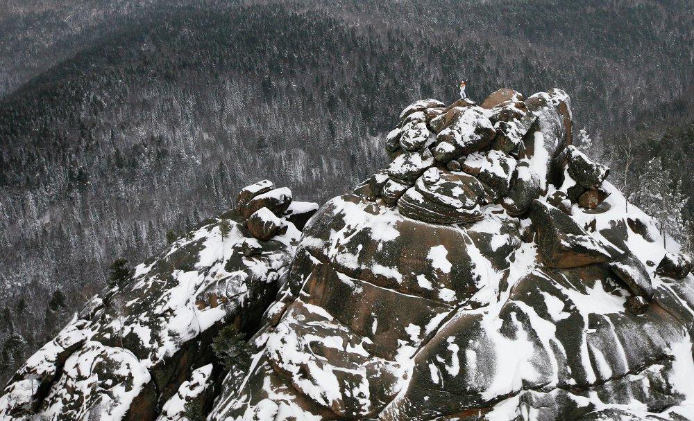 Stolby State Nature Reserve in Krasnoyarsk